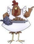coq en cuisine 350141