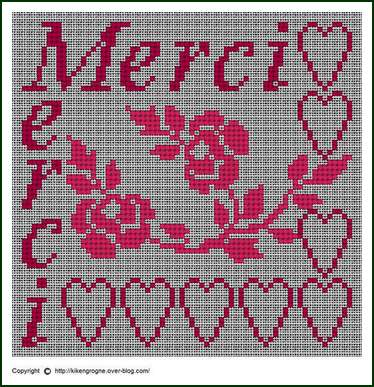 090810-kikengrogne-merci-avec-rose-sur-toile-lin