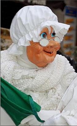 Goudils vieille femme