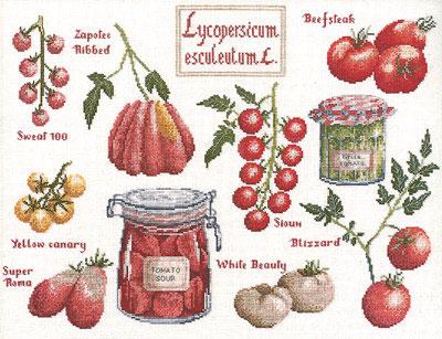 Tomates d'été DMC