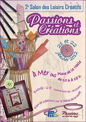 O se promener en janvier la passion au bout des doigts for Salon loisirs creatifs orleans