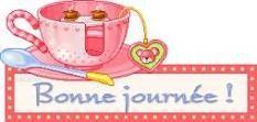 Bonne journée tasse