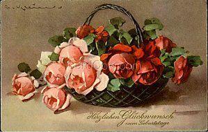 Bouquet ancien roses