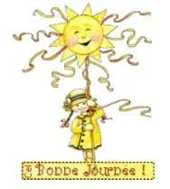 Bonne journée soleil+fillette