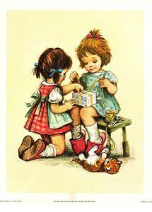 Petites filles rétros