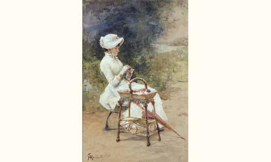 ferdinand-heilbuth-1826-1889-femme-brodant-dans-un-jardin-.jpeg